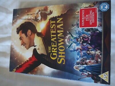 The Greatest Showman Dvd Bran New & Sealed