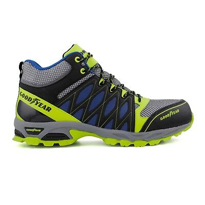 Goodyear Workwear Mens Toe Cap S1P Antistatic Safety Work Trainer Shoe Size 7-12