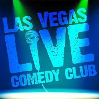 2 Tickets To Las Vegas Live Comedy Club