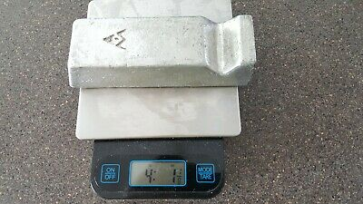 4lbs Tin (SN) Metal Ingot +99.9% Pure, A&M Foundries, Jewelry, Solder, Bullets