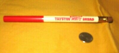 Jumbo Unused/Unsharpened Pencil Taystee Enriched White Bread  Ex Condition