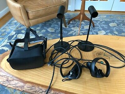 Oculus Rift + Touch Virtual Reality System (Used)