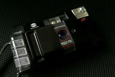Minolta AFZ 35mm f2.8 Point and Shoot compact film camera lomography