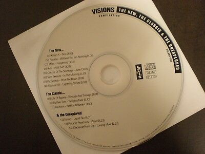 VISIONS CD THE NEW THE CLASSIC & THE UNEXPLORED Vol. 5