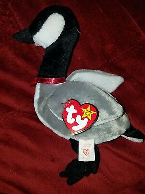 Ty Beanie Babies 1998 LOOSY Goose