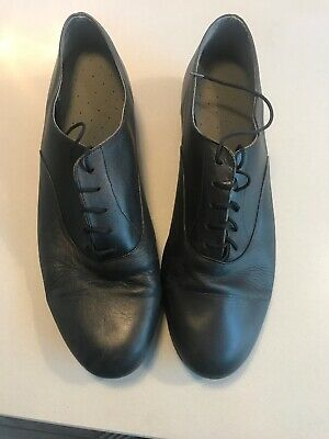 International MENS BALLROOM SHOES WITH SUEDE SOLE -  BLACK - SIZE 10