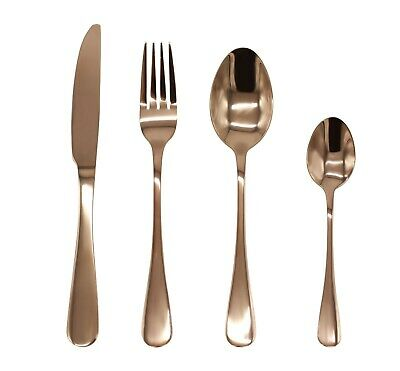 Stainless Steel Cutlery Sets Rose Gold Spoons Forks 8/16/24/32 piece Dinner Set