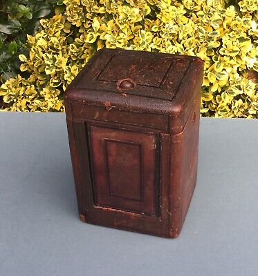 "Antique Travelling Box For Clock 1773 Measures 7"" High X 5"" Square"