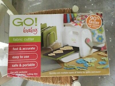 NEW Accuquilt GO baby Fabric Cutter