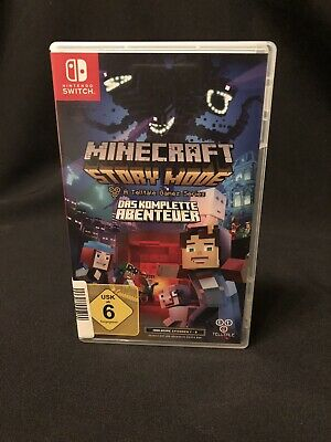 Minecraft: Story Mode - The Complete Adventure (Nintendo Switch, 2017)