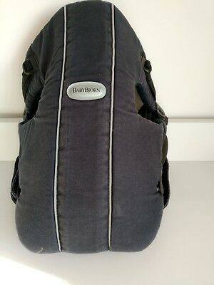 Baby Björn baby carrier. Blue. Cotton. Used.