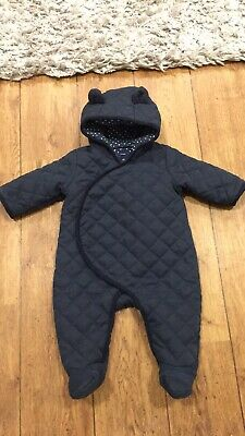 baby gap snowsuit All In One Pram Suit Size 3 - 6 Months
