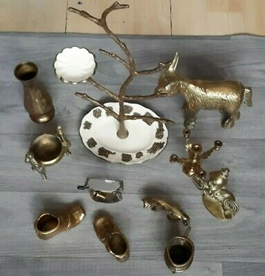 Collection of Brass Antiques