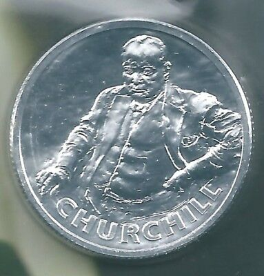 SOLID SILVER   £20 COIN      THE ICONIC   Sir Winston Churchill     COLLECTABLE