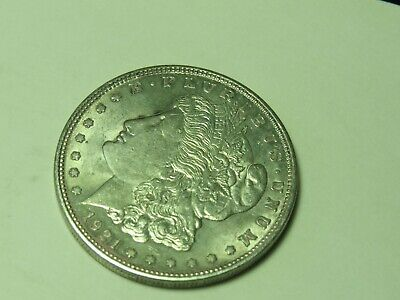 "1921- D  Morgan "" Xf++"" 90% Silver Dollar # 1134"
