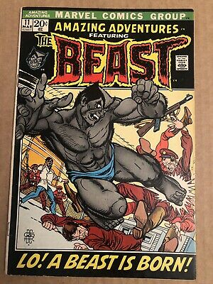 Amazing Adventures 11 12 13 14 15 16 17  Featuring The Beast Of The X-Men!!!