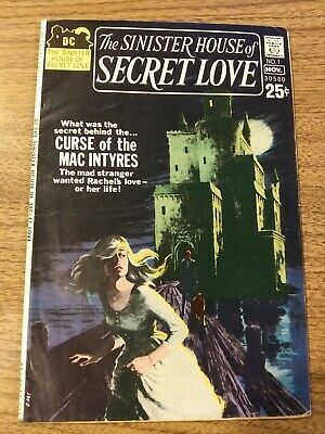 The Sinister House Of Secret Love #1 Dc Bronze Horror Wes Craven Story Vg/vg+