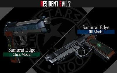 (Xbox One) Resident Evil 2 - Samurai Edge (Handguns Chris & Jill Model) - DLC