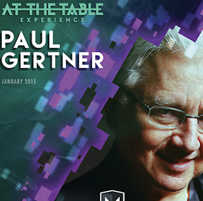 At the Table Live Lecture Paul Gertner