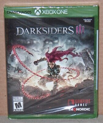 Darksiders III 3 (Microsoft Xbox One, 2018) Brand New, Sealed, Trusted US Seller