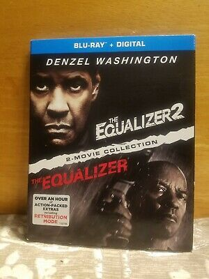 The Equalizer & The Equalizer 2 Blu Ray + Digital - Walmart Exclusive Version