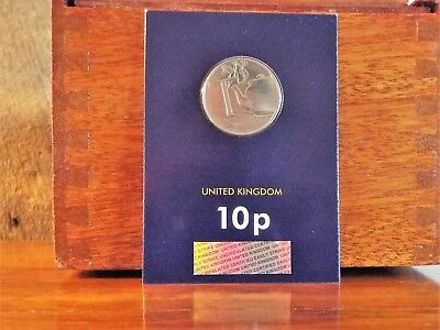 2018 10p New A-Z Certified Early Strike Ten Pence Coin in Pack - T - Tea