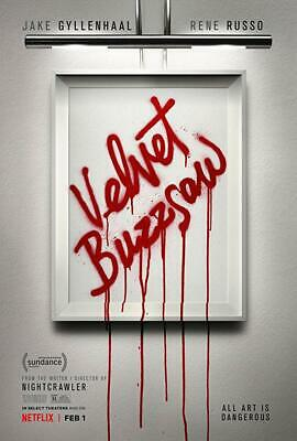 """velvet Buzzsaw "" Dvd Pre Sale Free Shipping 3/19 Factory Sealed Brand New"