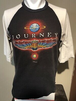 VTG 1980 Journey World Tour Raglan Soft-thin Tee-M