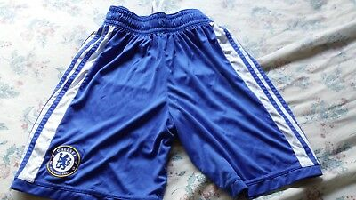 Chelsea Adidas Football Shorts Terry Lampard Drogba Cole size 32""