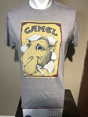 VTG 1980's Camel Smoking Soft-thin promo Tee-L