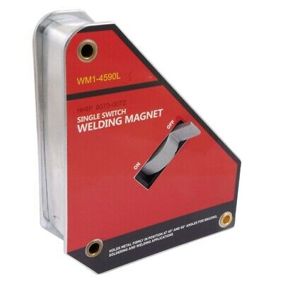 """6.0 X 5.1 X 1.4"""" 45/90 Degree Welding Magnet With Switch (8070-0072)"""