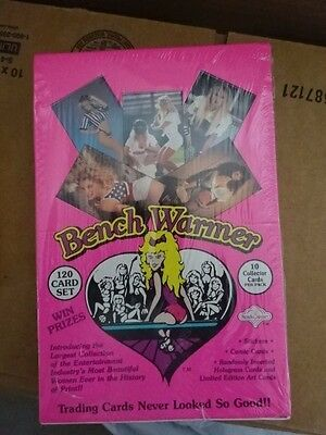 Rare Sealed Box Benchwarmers 1992 Trading Cards!