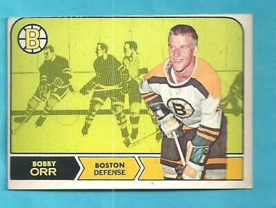 1968-69 OPC 2 Bobby Orr Boston Bruins! Nice condition!