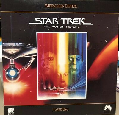 1991 Paramount Star Trek The Motion Picture - Laser Disc - Widescreen Edition LD