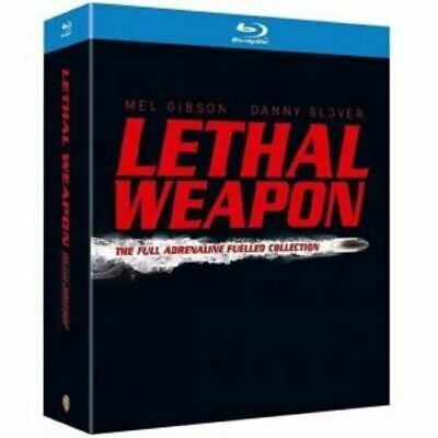 Lethal Weapon Collection 1-4 [Blu-ray]