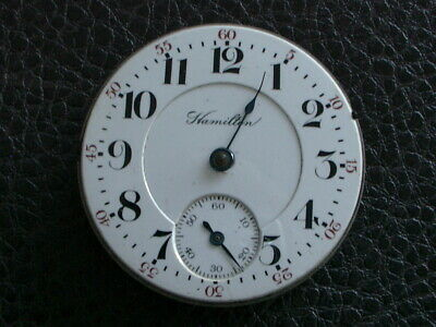 Hamilton 18 Size Model 940 Movement And Dial For The Watchmaker Or Parts House