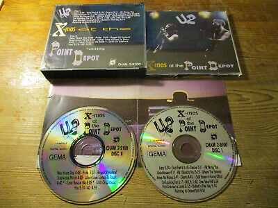 U2  X-MAS AT THE POINT DEPOT Chameleon 2-9100 2CD live Dublin 1989 RARE
