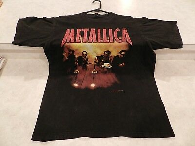 "METALLICA-""Load Tour"" VINTAGE 1996/1997 CONCERT TOUR  Graphic Band T-Shirt"