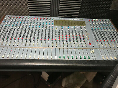 TAC Audio Mixing Console Desk Recording Studio AMEK 16/8/2 Vinateg Analogue