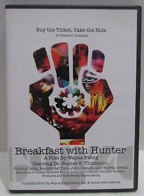 Breakfast with Hunter DVD Documentary of Hunter S Thompson