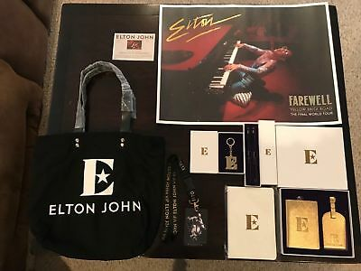Elton John Farewell Yellow Brick Road Tour --Limited Edition-- VIP Package