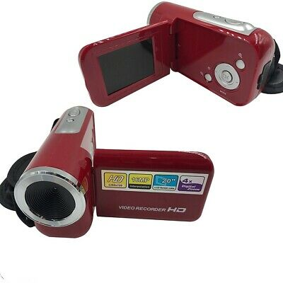 "2.0"" 16MP Mini Digital Camera DV Camcorder LCD 4X Zoom with USB Cable Kids Gift"