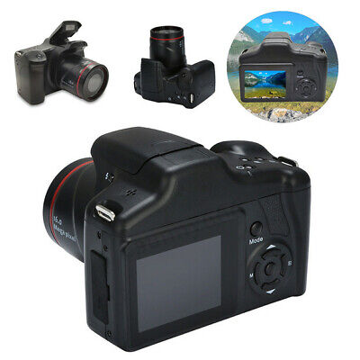 2.4 Inch 1080P HD Digital SLR Camera TFT LCD Screen 16X Zoom Anti-shake Hot UK