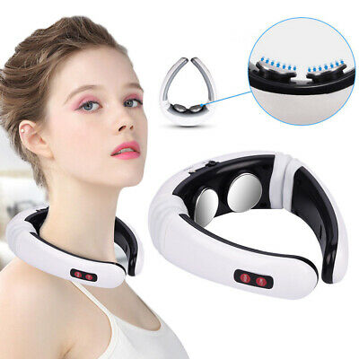 Electric Neck Acupuncture Meridian Therapy Massager Pain Relief Instrument Relax