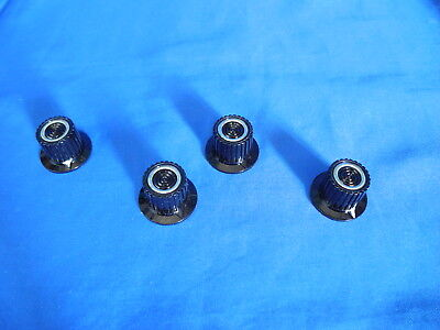 HEATH HEATHKIT Test Equipment Control Knobs - Used - 4 Knobs - AS PICTURED