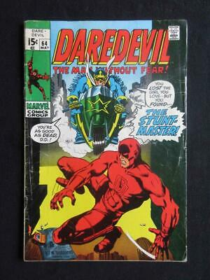 Daredevil #64 MARVEL 1970 - Stunt Master app - Stan Lee!