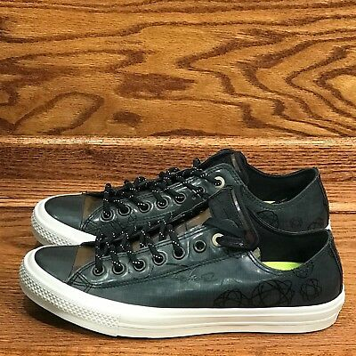 Converse Chuck Taylor All Star II Ox Black Camo Shoes Size Men 9 Women 11 efca444f2