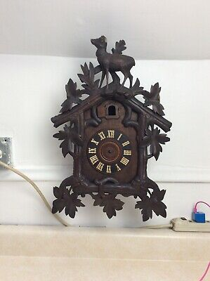 Antique German Black Forest  GK  Cuckoo Clock, Parts Only