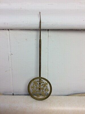 Antique Viennese Shelf Clock Fancy Pendulum