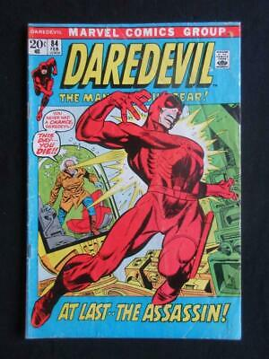 Daredevil #84 MARVEL 1972 - Stan Lee comics, Avengers, Marvel, Hulk!